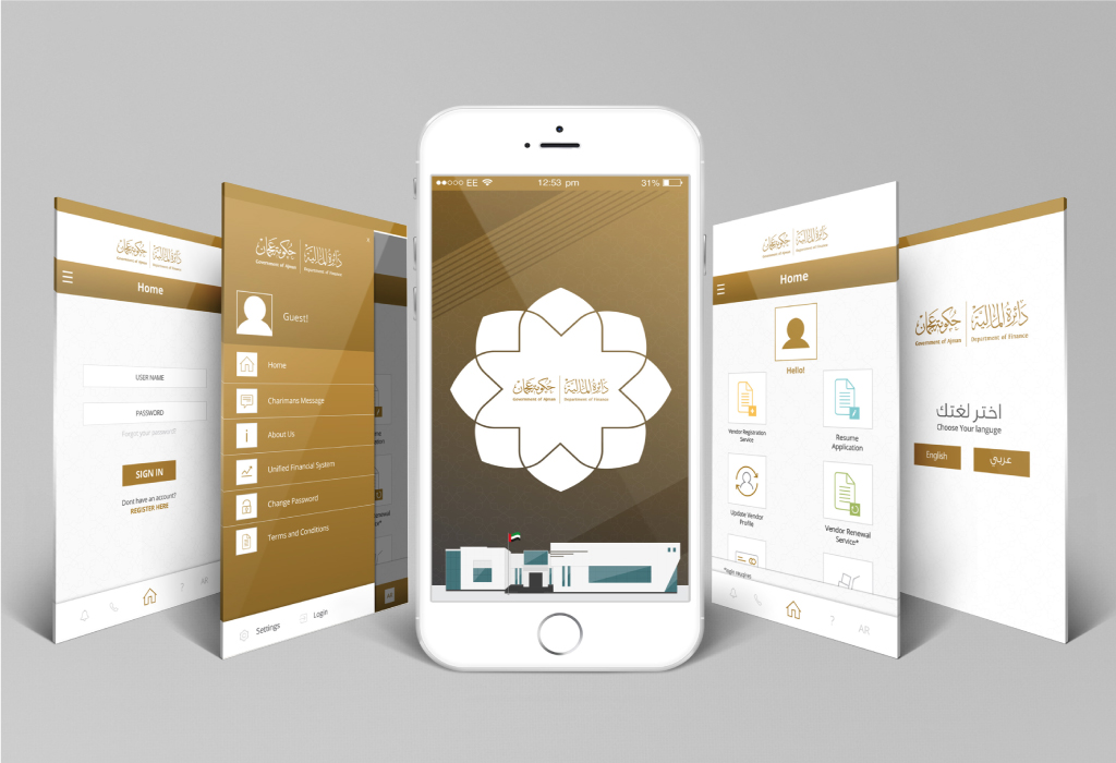 Department of Finance App Design